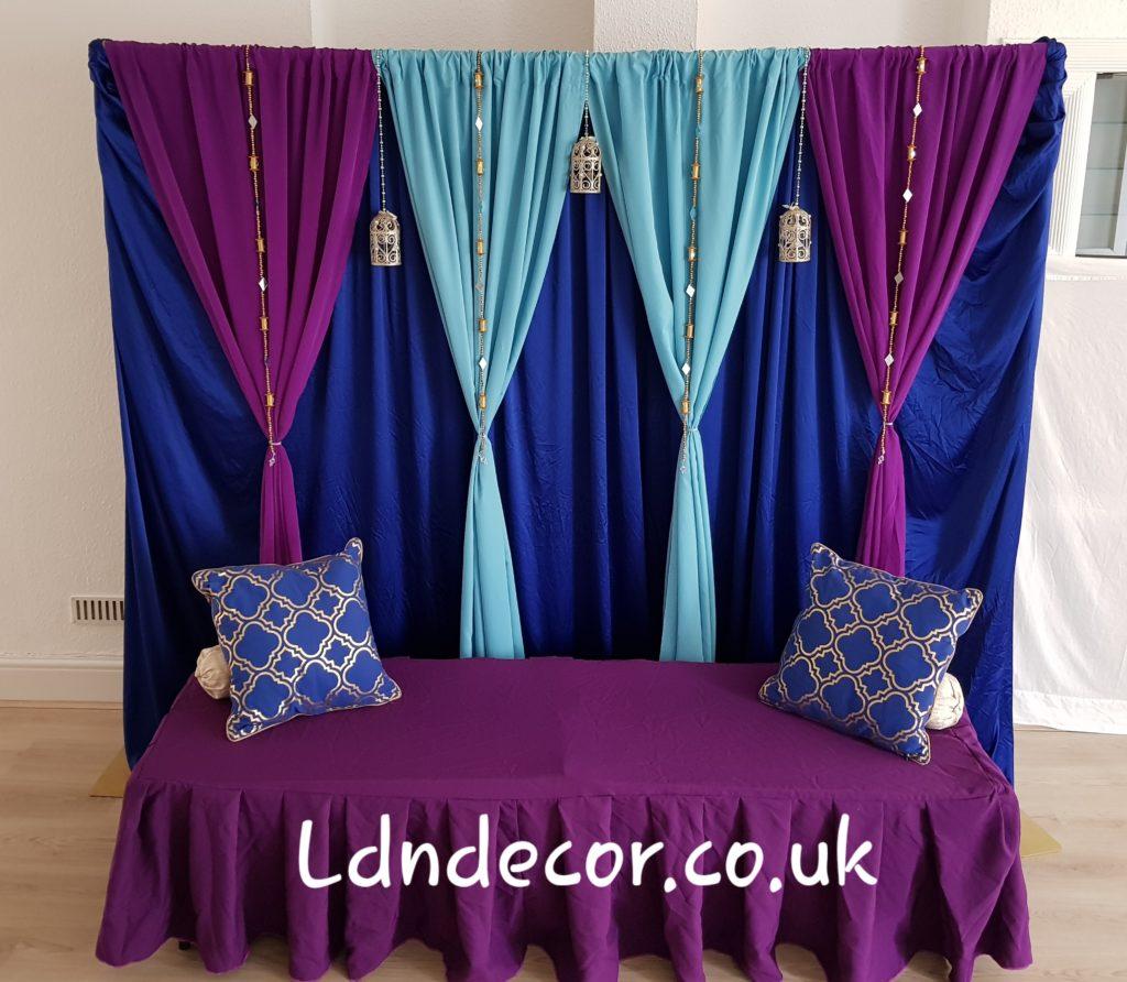 Aladdin backdrop hire