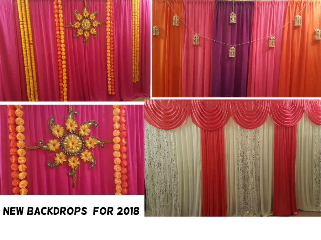New Mehndi backdrops 2018