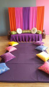 Moroccan cushion 4 mattresses