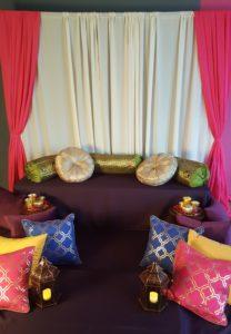 Moroccan cushion London