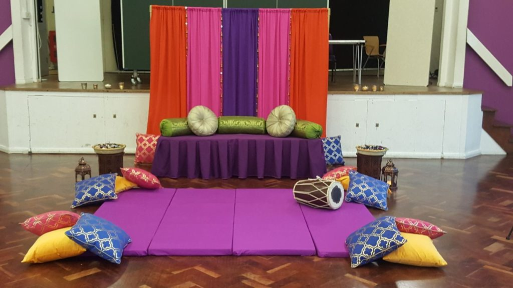Mehndi stage london